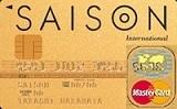 ゴールドカード セゾン Master Card